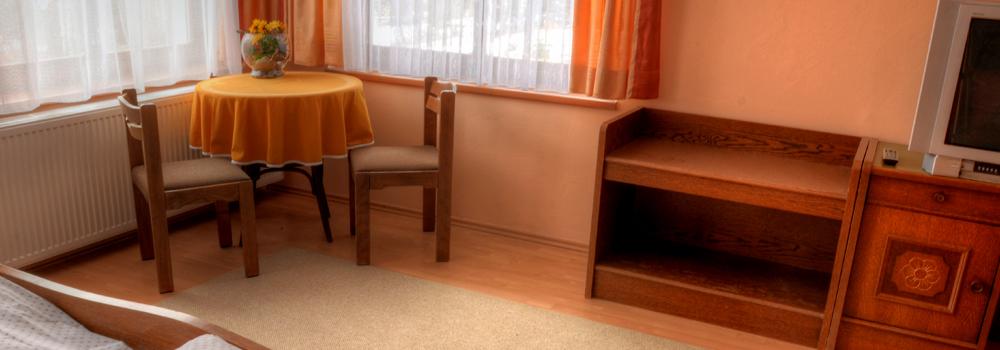Dispozice pokojů